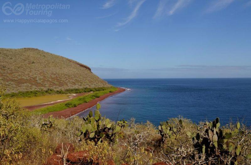 Galapagos Photo Red Beach In Rabida Island