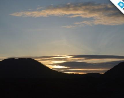 Galapagos Photo An astonishing sunset in the Galapagos Islands