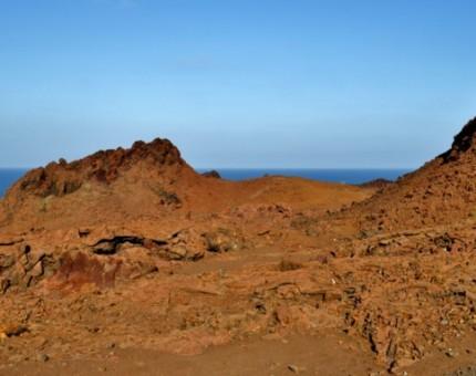 Galapagos Photo An incredible volcanic landscape of Galapagos Island