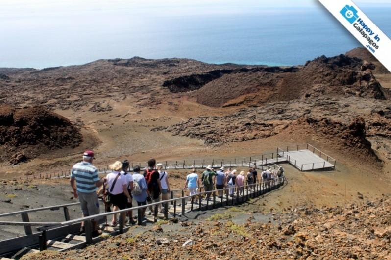 Galapagos Photo Walk Along A Panoramic Trail